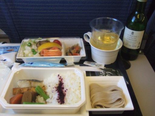 機内食復路