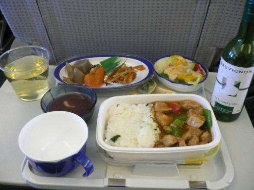 大連出張時の機内食04