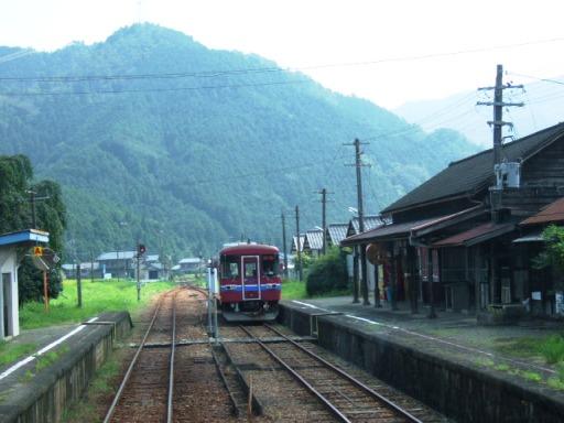 大矢駅にて