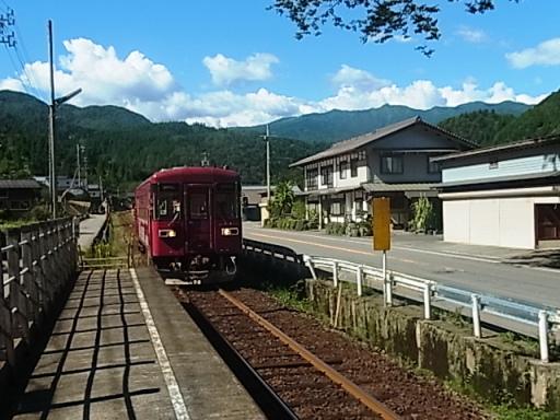 帰りの長良川鉄道