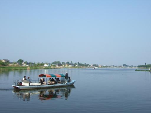 城沼の渡船