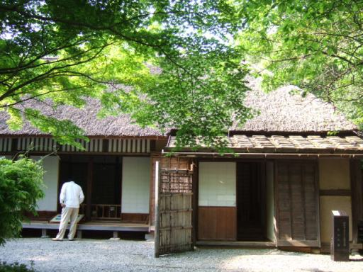 田山花袋の旧居