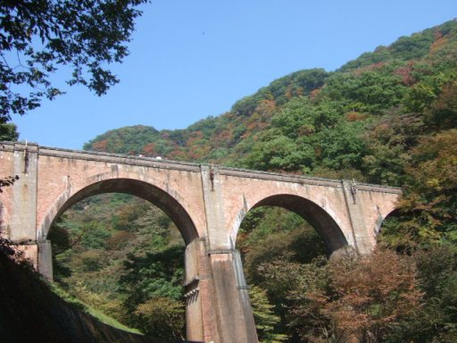 めがね橋(※碓氷第三橋梁)