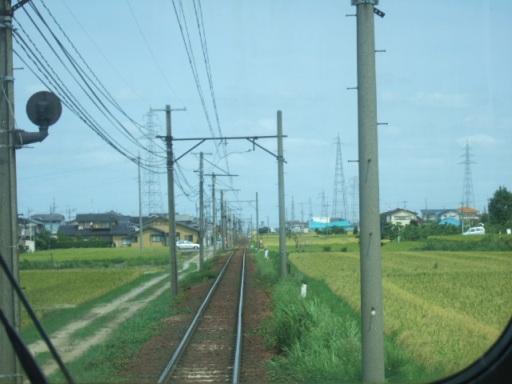 石川線の車窓