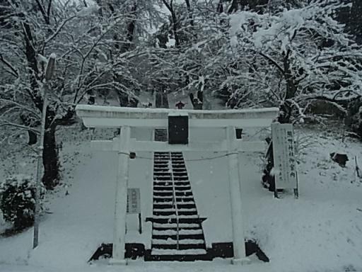 熊野神社付近(雪)01