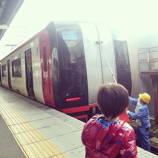 岐阜駅にて