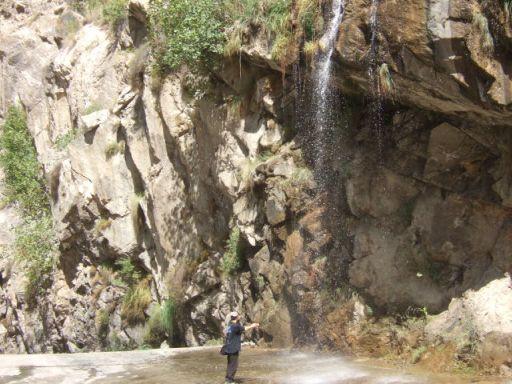 ギルギット~スカルドゥ間の滝02