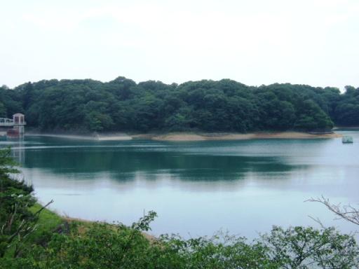 村山貯水池02(※多摩湖)
