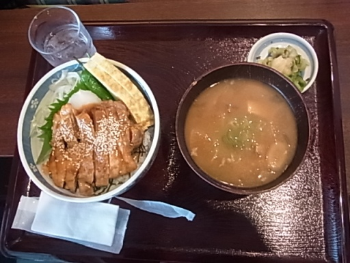 きじ焼き丼定食